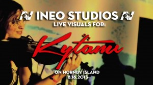 live visuals for kytami (Kytami Live & Psychedelic on Hornby Island)
