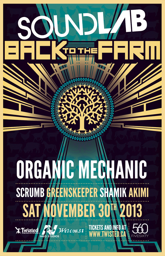 Back to the Farm Poster