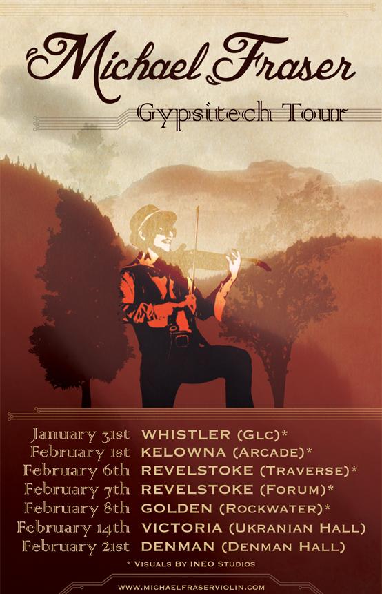 MF Tour Poster