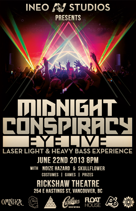 Midnight Conspiracy Poster