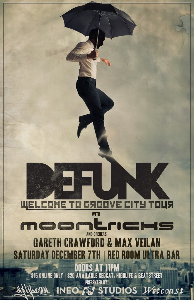 Welcome to Groove City Tour Poster